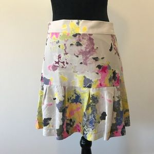 Timely Road Piperlime Skirt S Gray Watercolor